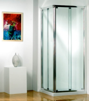 Original 760mm Corner Entry Sliding Door Enclosure by Kudos