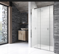 Pinnacle 8 Sliding Shower Door for Recess 1200mm by Kudos