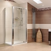 Roman Lumin8 Pivot Shower Door 760mm