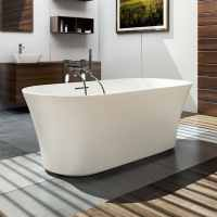Armonia - 1550 x 750m - Natural Stone Freestanding Bath - Clearwater