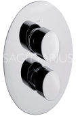 Sagittarius Oveta Concealed Thermostatic Valve 2 Way Diverter