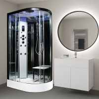 Insignia PL11L-O-S Platinum Steam Shower 1100 x 700mm
