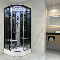 Insignia PL8-Q-S Platinum Steam Shower 800 x 800mm