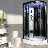 Insignia PR11L-Q-S Premium Steam Shower 1100 x 700mm
