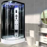 Insignia PR11R-Q-S Premium Steam Shower 1100 x 700mm