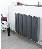 Space Aluminium Radiator - Anthracite - 600 x 560mm by Phoenix