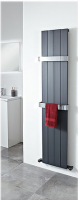 Eon Aluminium Radiator 1800 x 375mm - Anthracite - by Phoenix
