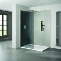 Frontline Prestige2 1600mm Smoked 10mm Wetroom Glass