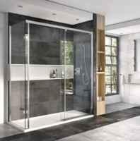 Frameless Sliding Shower Doors Frameless Sliding Shower Enclosures