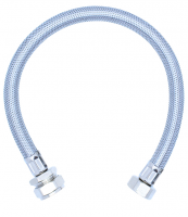 "Viva 3/4"" x 22mm - 500mm - Braided Flexi Hose With Isolation Valve"