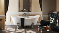 Burlington Bateau Traditional Double Ended Freestanding Bath - 1640 x 722
