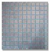 Abacus Direct Porcelain Fino Mosaic Tile Grey - 2.5cm - 300 x 300mm Box of 11 Tiles