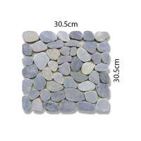 Abacus Pebble Mosaic Floor Tiles - 305 x 305mm