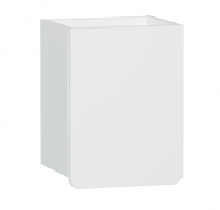 Vitra D-Light 400mm Side Unit - Matt White