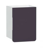 Vitra D-Light 400mm Side Unit - Matt White - Purple