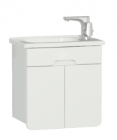 Vitra D-Light 500mm Washbasin Unit - Matt White