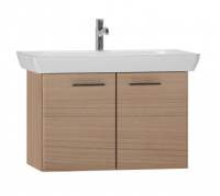 Vitra S20 850mm Golden Cherry Wall Hung Double Door Unit Inc Basin