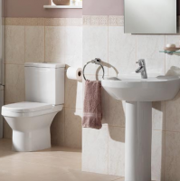 Vitra S50 4 Piece Bathroom Suite with Round Washbasin
