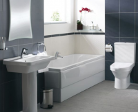 Vitra S50 4 Piece Bathroom Suite with Square Washbasin