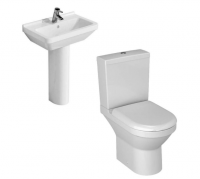 Vitra S50 Compact 4 Piece Bathroom Suite