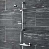 Ultra Dune Bar Shower Valve with Slider Rail Kit - Low Pressure