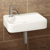 HIB Lugo Basin with SideTowel Rail