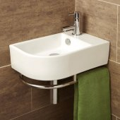 HIB Temoli Basin with Towel Rail