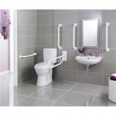 Premier Doc M Pack Comfort Height Toilet Set