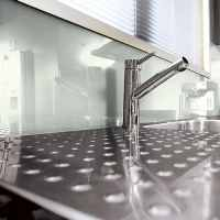 Lustrolite Glacier Kitchen Panel / Splash Backs