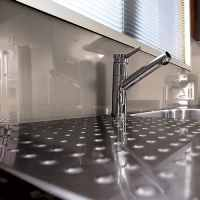 Lustrolite Mocha Kitchen Acrylic Panel / Splash Backs