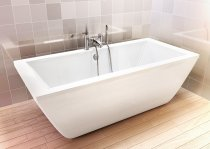 Freefortis Freestanding Bath - 1800 x 800 - Cleargreen
