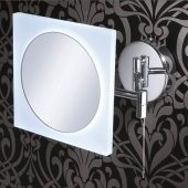 HIB Aries Extendable Magnifying Illuminated Mirror