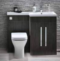 Lili 1100mm Bathroom Furniture Pack - Avola Grey