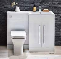 Lili 1100mm Bathroom Furniture Pack - Gloss White