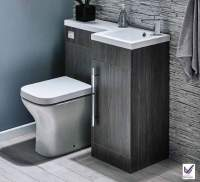 Lili 900mm Bathroom Furniture Pack - Avola Grey