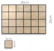 Abacus Direct Reale Mosaic - 50 x 25cm