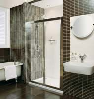 Roman Showers Collage Bi-Fold Shower Door 700mm Silver