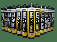 12x EB25 - Clear - Ultimate Sealant & Adhesive 300ml - Everbuild