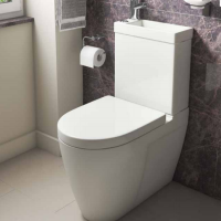 Combi 2-in-1 WC and Basin - Kartell