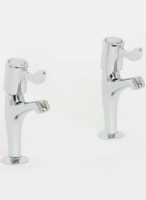 Skara 1/4 Turn Lever Sink Pillar Taps