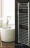 Rubber Duck 1100 x 450mm Chrome Straight Towel Warmer