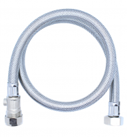 "Viva 3/4"" x 22mm - 900mm - Braided Flexi Hose With Isolation Valve"