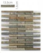 Abacus Direct Stone Brick Natural Mosaic Tile - 305 x 305cm