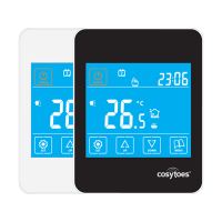 Cosytoes Gloss Touchscreen Timerstat in White (CGW) or Black (CGB)
