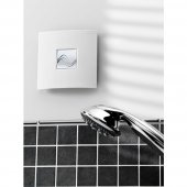 Zehnder Silent 100mm Basic Bathroom Wall Extractor Fan