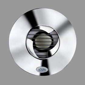 Good bathroom extractor fan - Icon Airflow Chrome Extractor Fan Icon 15icon Airflow