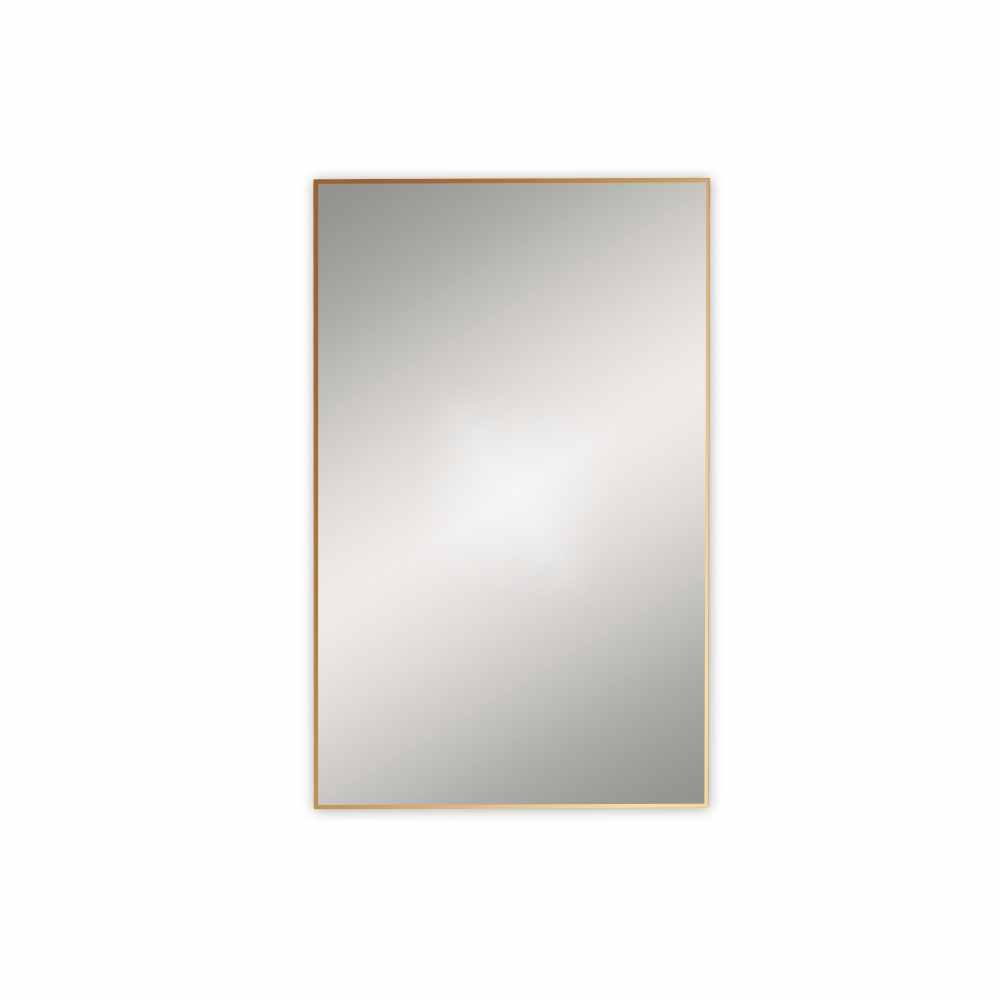 Docklands 500 x 800mm Rectangular Mirror 50 - Brushed Brass