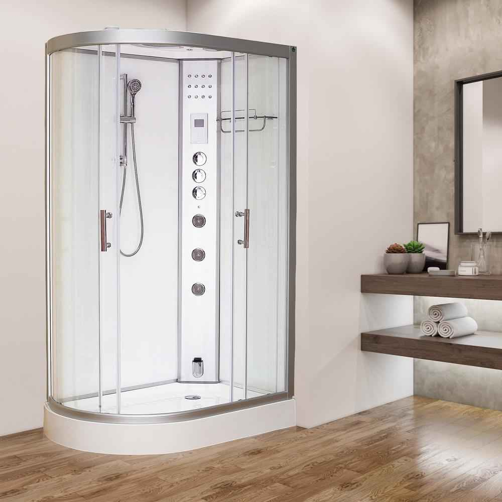 Vidalux Clearwater 1200 Right Handed Steam Shower 1200 x 800 x 2200mm