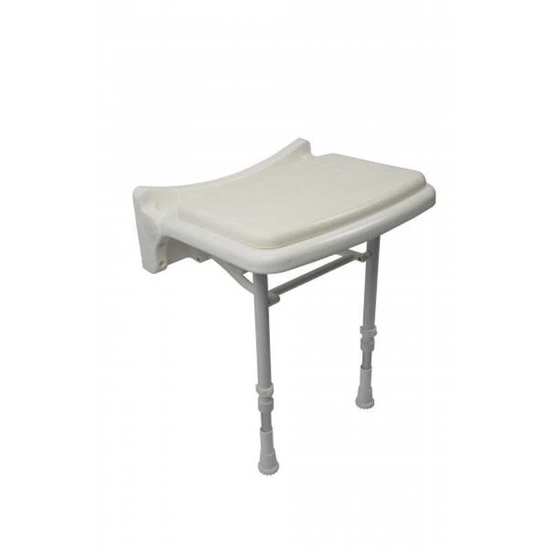 Croydex Padded Fold Down Shower Seat Chair AP503122 Free Delivery From Rubber