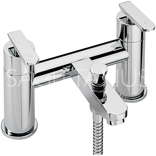Sagittarius Eclipse Bath Shower Mixer with No1 Kit